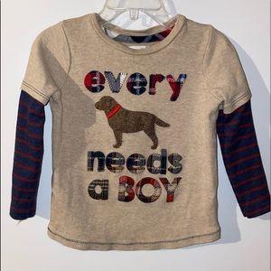 Every Dog Needs a Boy T-Shirt by Mud Pie